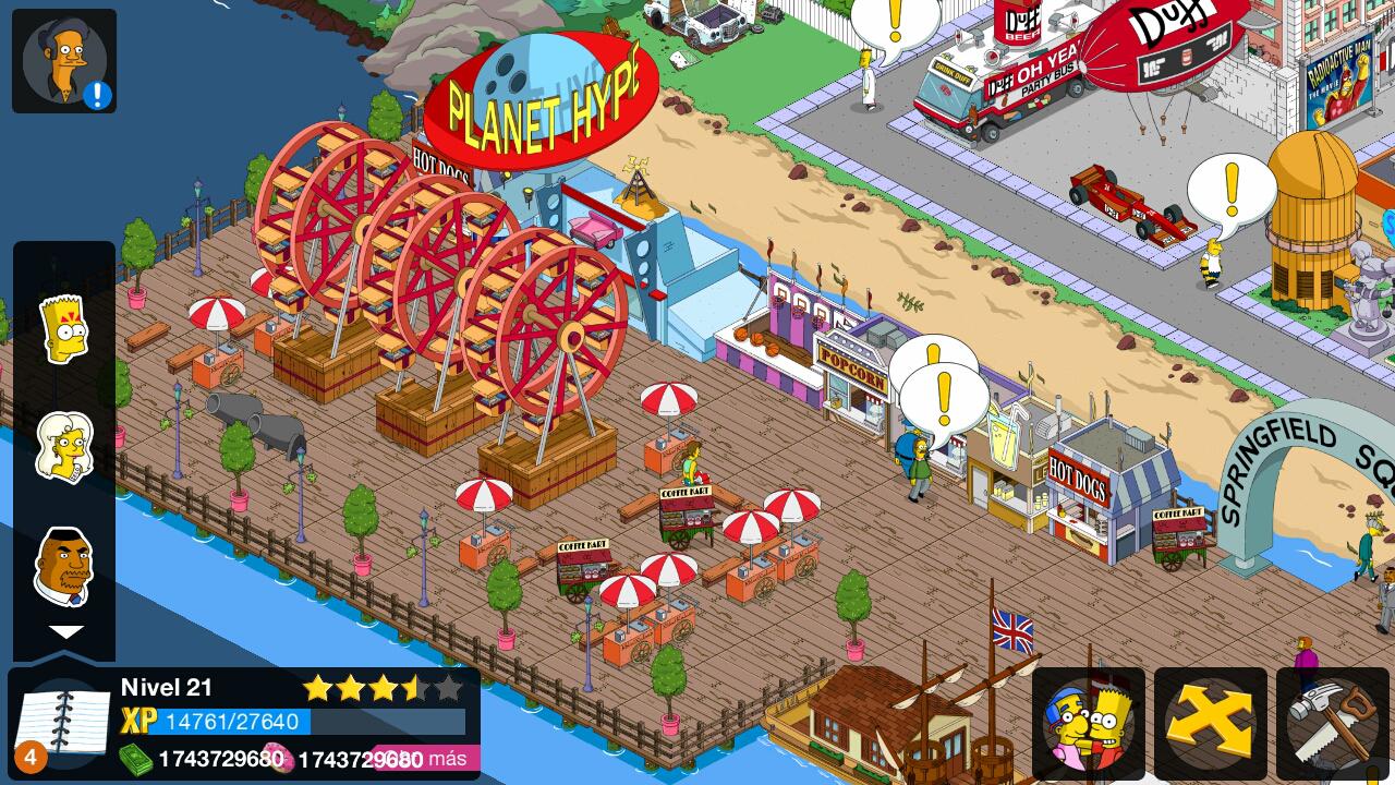 de Información - Truco Donas y Dinero infinito para Los Simpson