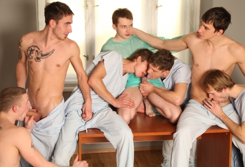 Hospital in orgy party