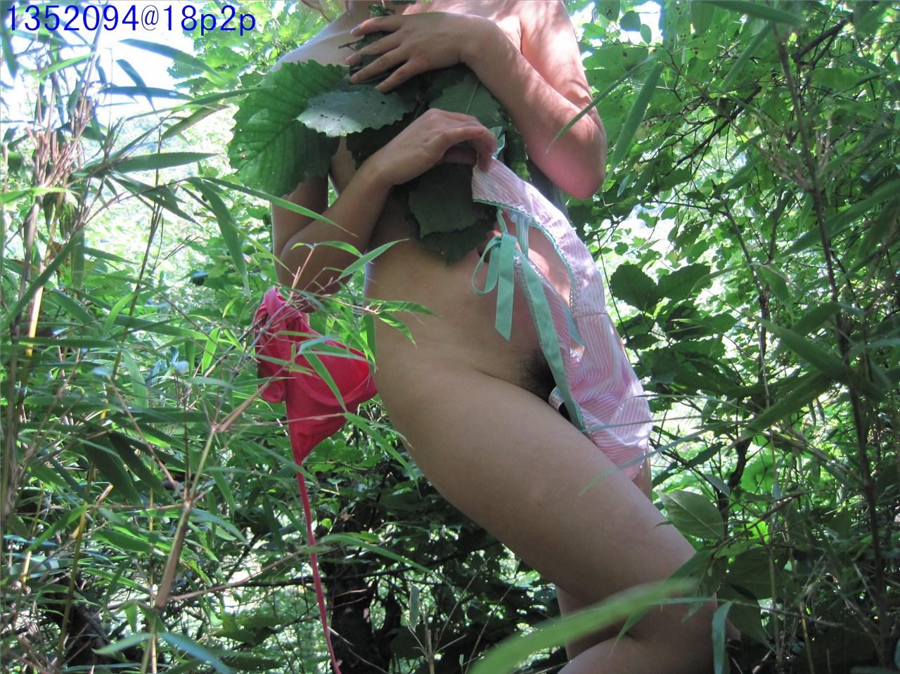 ★★出外踏青是一定要把年輕老婆的肉體拍下的啦!★★