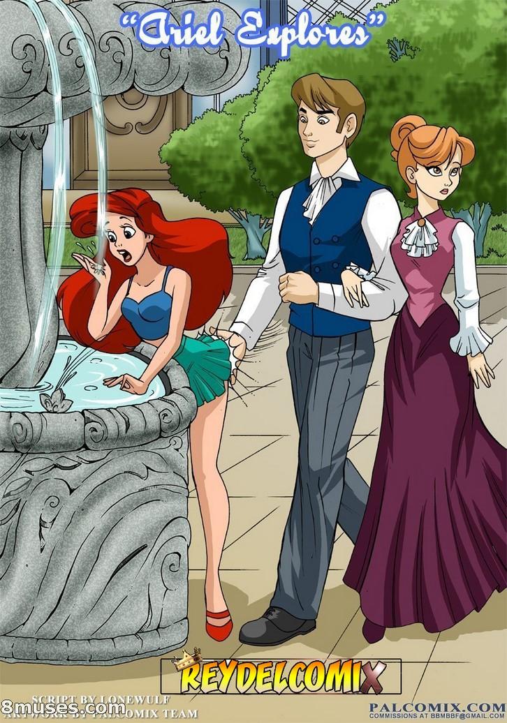 Palcomix - Ariel Explores - Español 4