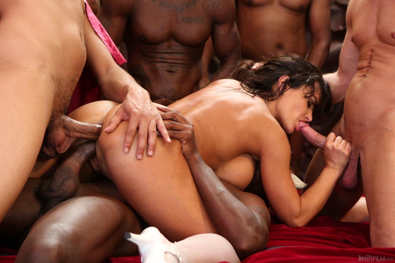 Hot Gangbang Porn Pics
