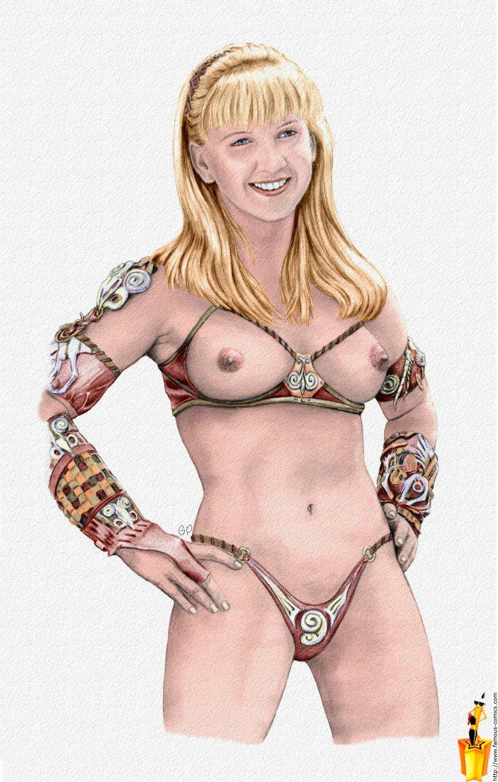 Xena Gabrielle Nude Scenes Domination Porn Pics
