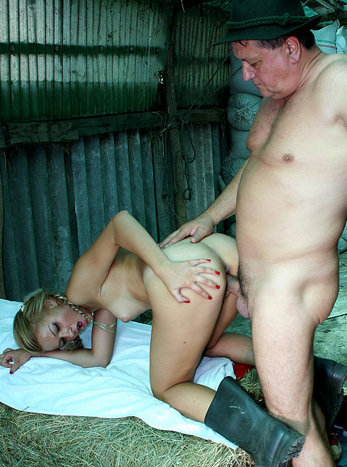 Young girl farm fuck — 2