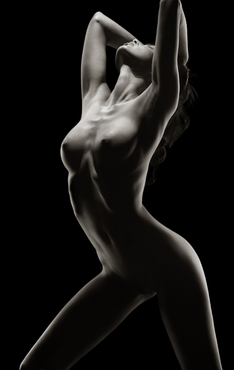 Nude Woman Fine Art Black And White Naked Girl Photograph By Alessandro Della Torre