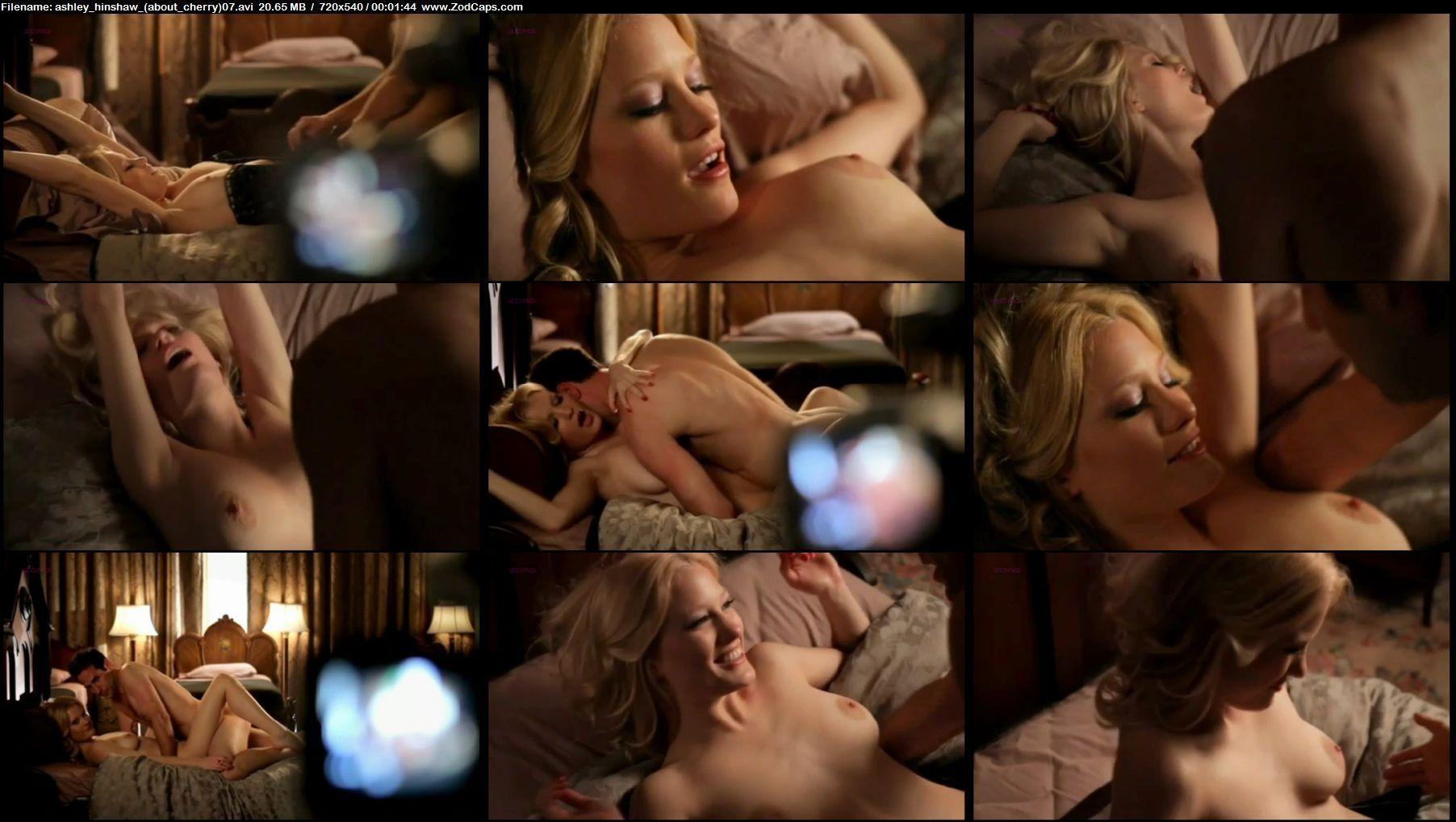 Ashley Hinshaw In Sex Scene