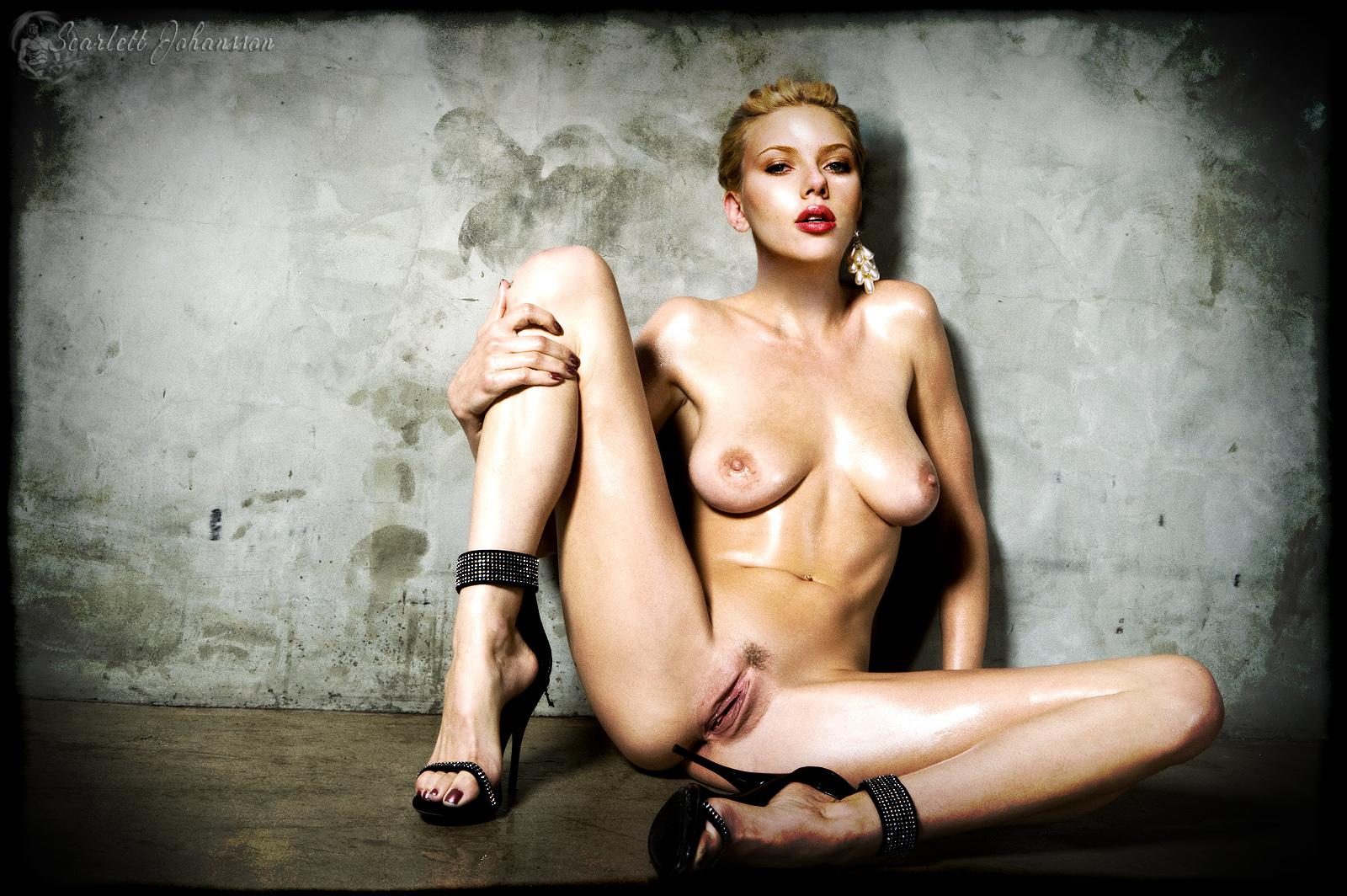 Scarlett johansson fake naked