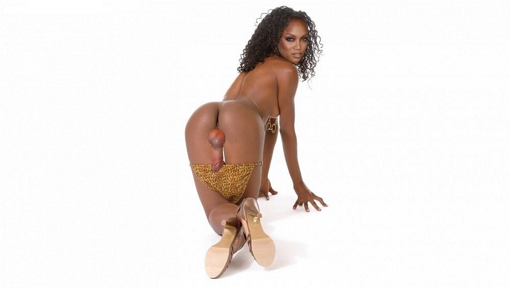 Tyra banks nude topless and see through photos