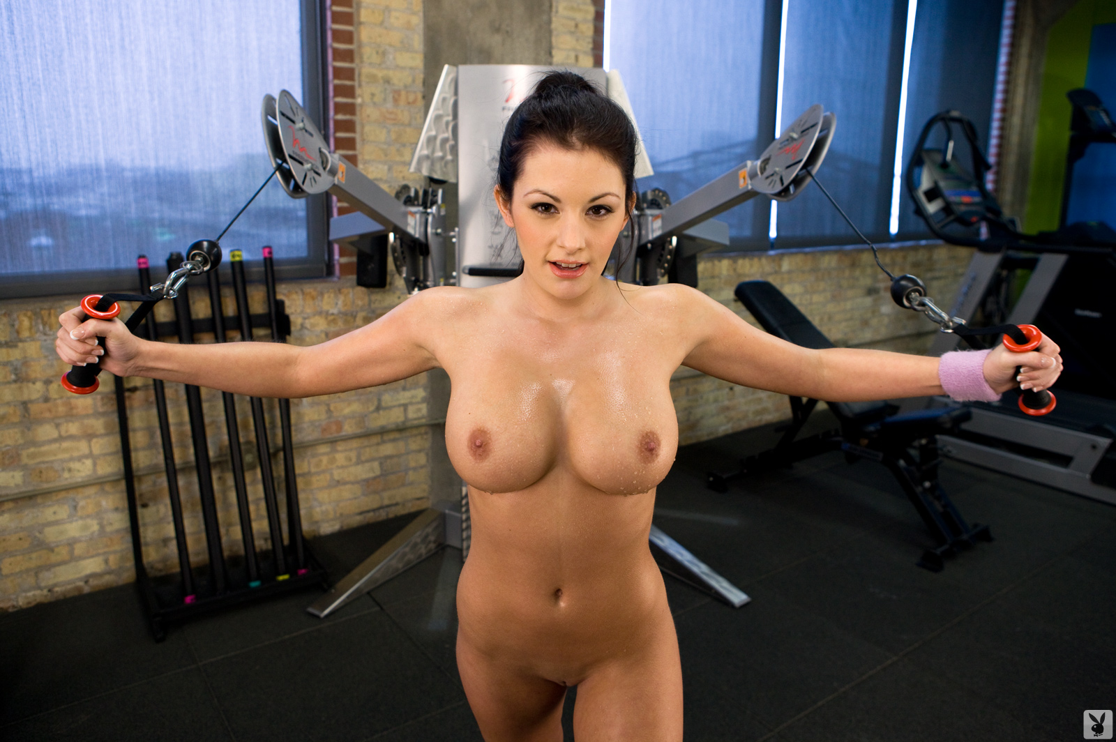 Big Tits Nude Workout Leads To Hot Fuck