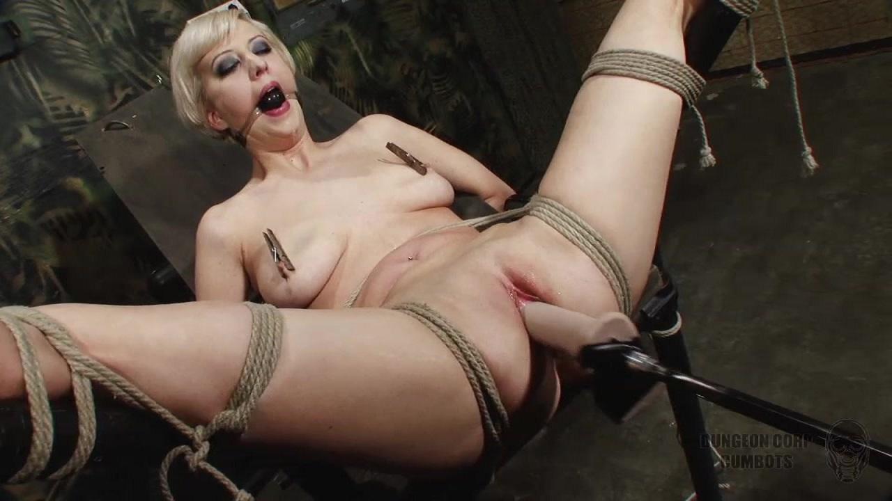 Estim Bondage Orgasms