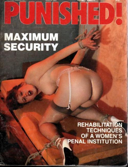 XXX BDSM Magazine Cover