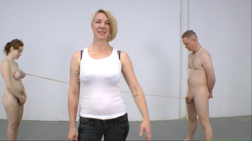 Tits Vs Balls Femdom
