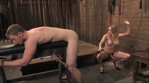 Aiden Starr And Angel Femdom