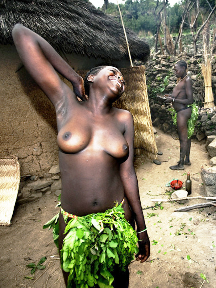 big tits african tribe