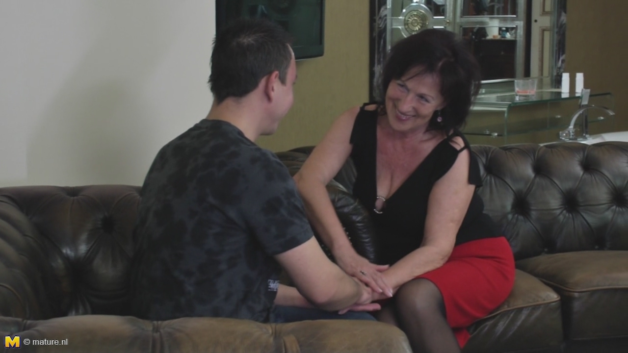 Mature Brunette Katalina Fucks With Son-0-00-10-654,